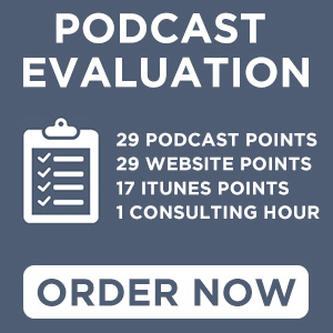 Podcast Evaluation