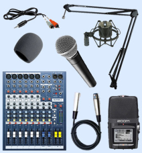 Advanced Podcasting Equipment