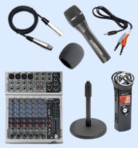 Beginner Podcasting Equipment