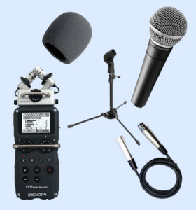 Portable Podcasting Equipment