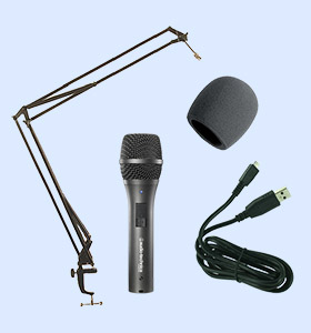 Simple Podcast Equipment Package